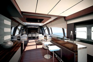Azimut luxury yacht 120SL - Salon
